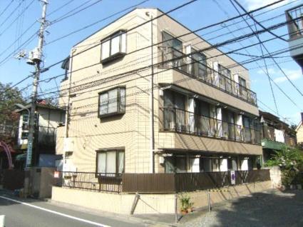 東京都板橋区、ときわ台駅徒歩17分の築26年 3階建の賃貸マンション