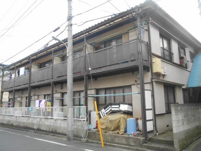 東京都板橋区、中板橋駅徒歩19分の築38年 2階建の賃貸アパート