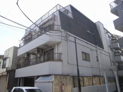 東京都板橋区、上板橋駅徒歩8分の築23年 4階建の賃貸マンション