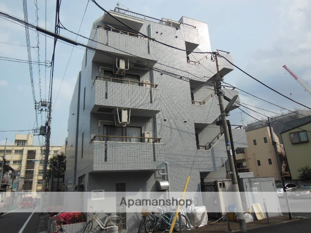 東京都杉並区、阿佐ケ谷駅徒歩25分の築26年 5階建の賃貸マンション