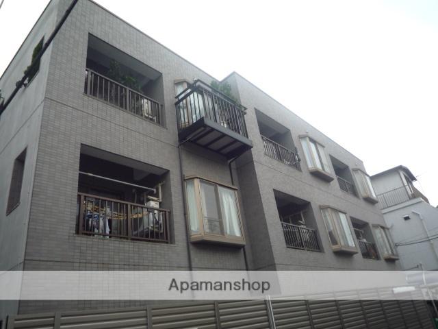 東京都杉並区、西荻窪駅徒歩10分の築23年 3階建の賃貸マンション