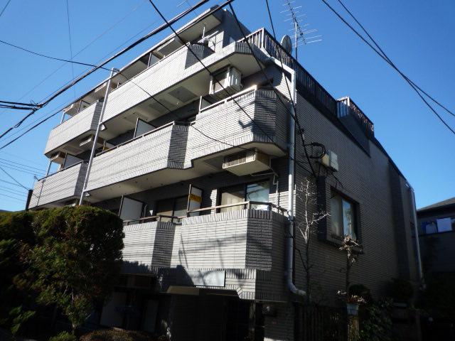 東京都杉並区、阿佐ケ谷駅徒歩5分の築24年 4階建の賃貸マンション