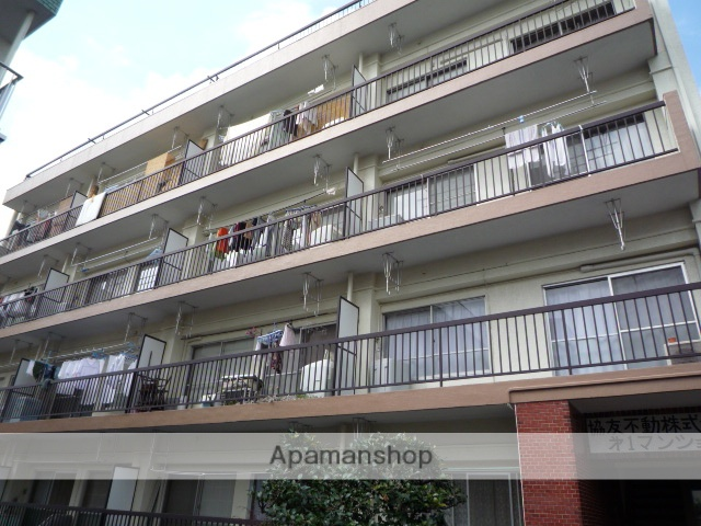 東京都杉並区、荻窪駅徒歩20分の築43年 4階建の賃貸マンション