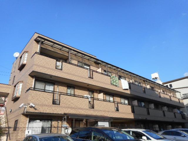 東京都杉並区、富士見台駅徒歩20分の築13年 3階建の賃貸マンション
