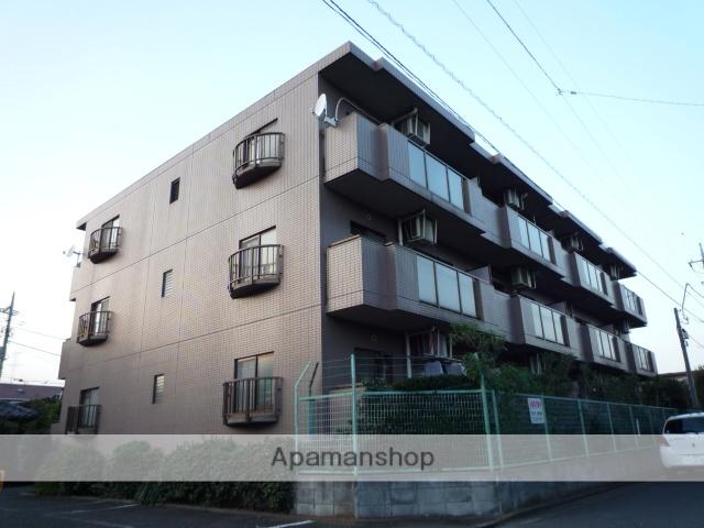 東京都杉並区、荻窪駅徒歩17分の築25年 3階建の賃貸マンション