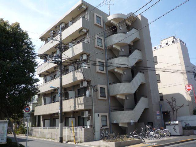 東京都杉並区、西荻窪駅徒歩14分の築25年 5階建の賃貸マンション