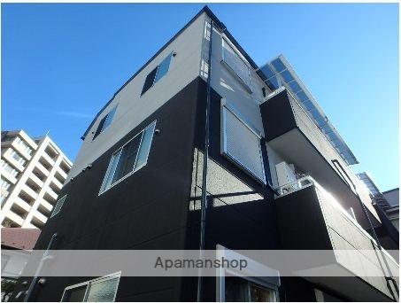 東京都中野区、落合駅徒歩4分の築2年 3階建の賃貸マンション
