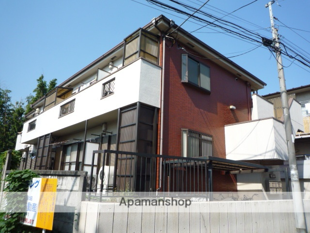 東京都杉並区、荻窪駅徒歩22分の築21年 2階建の賃貸アパート