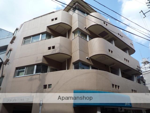 東京都杉並区、西荻窪駅徒歩2分の築33年 4階建の賃貸マンション