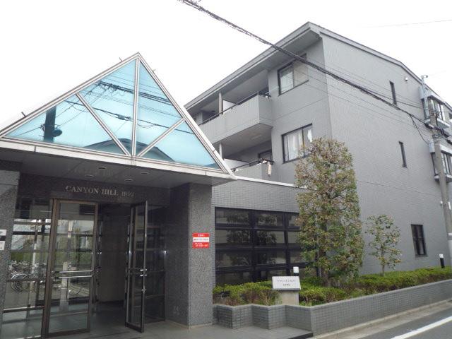 東京都杉並区、西荻窪駅徒歩20分の築25年 3階建の賃貸マンション