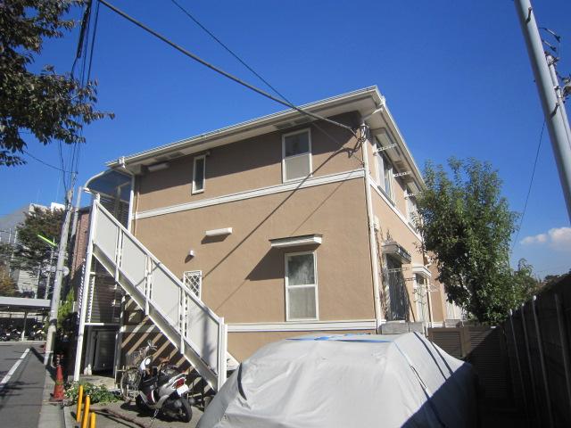 東京都世田谷区、成城学園前駅徒歩3分の築24年 2階建の賃貸アパート