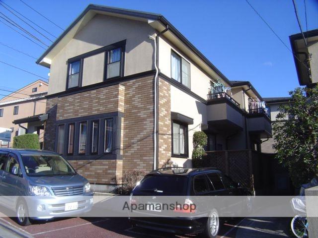 東京都世田谷区、豪徳寺駅徒歩8分の築17年 2階建の賃貸テラスハウス