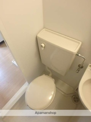 東京都狛江市東和泉4丁目[1K/18.1m2]のトイレ