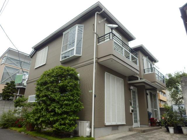 東京都世田谷区、千歳船橋駅徒歩16分の築23年 2階建の賃貸テラスハウス