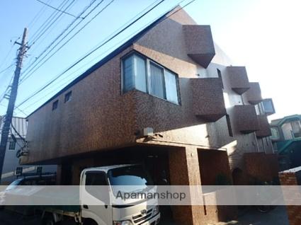 東京都狛江市、喜多見駅徒歩11分の築41年 3階建の賃貸マンション