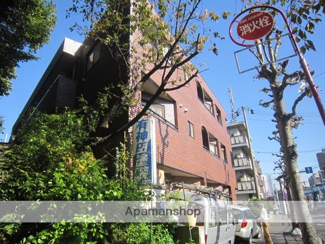 東京都世田谷区、祖師ヶ谷大蔵駅徒歩17分の築25年 3階建の賃貸マンション