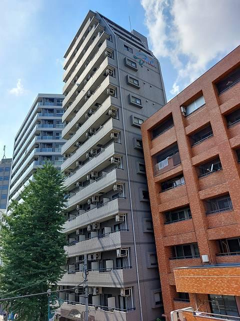 東京都渋谷区、笹塚駅徒歩6分の築17年 15階建の賃貸マンション