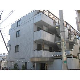 東京都世田谷区、梅ヶ丘駅徒歩9分の築25年 4階建の賃貸マンション