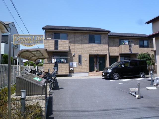 東京都小金井市、東小金井駅徒歩15分の築8年 2階建の賃貸アパート