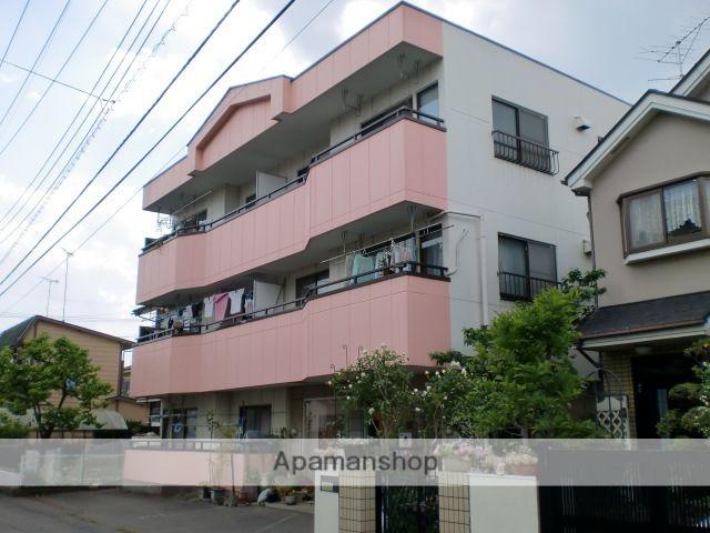 東京都国分寺市、西国分寺駅徒歩11分の築33年 3階建の賃貸マンション