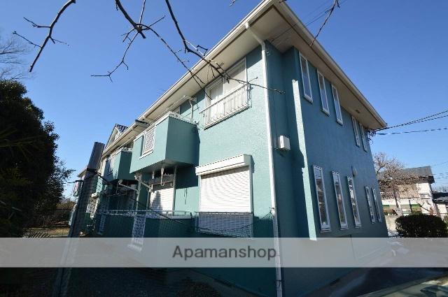 東京都小金井市、東小金井駅徒歩14分の築25年 2階建の賃貸アパート
