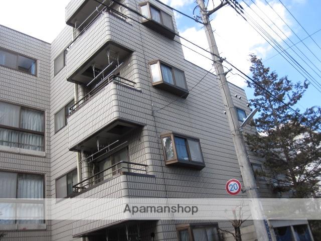 東京都小金井市、東小金井駅徒歩13分の築26年 4階建の賃貸マンション