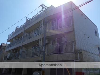東京都小平市、新小平駅徒歩15分の築25年 4階建の賃貸マンション