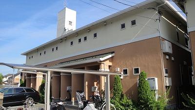 東京都小金井市、武蔵小金井駅徒歩16分の築7年 2階建の賃貸アパート