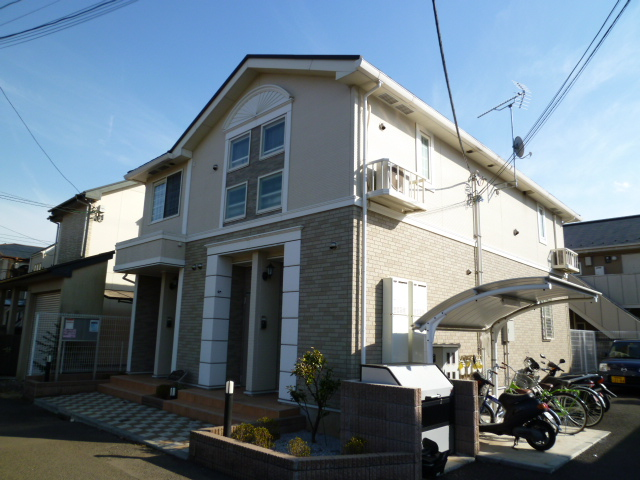 東京都小金井市、武蔵境駅徒歩19分の築9年 2階建の賃貸アパート