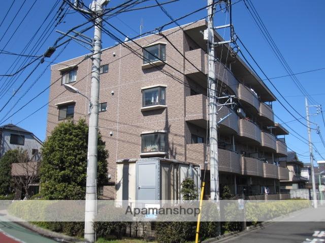 東京都小金井市、東小金井駅徒歩12分の築24年 4階建の賃貸マンション