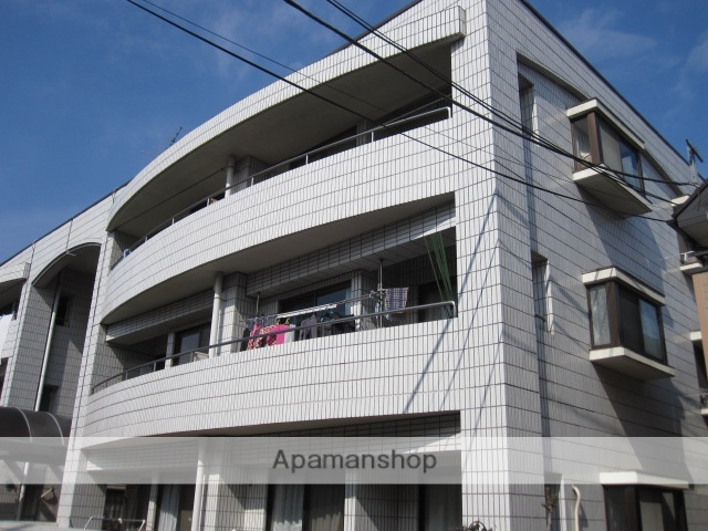 東京都小金井市、東小金井駅徒歩17分の築28年 3階建の賃貸マンション