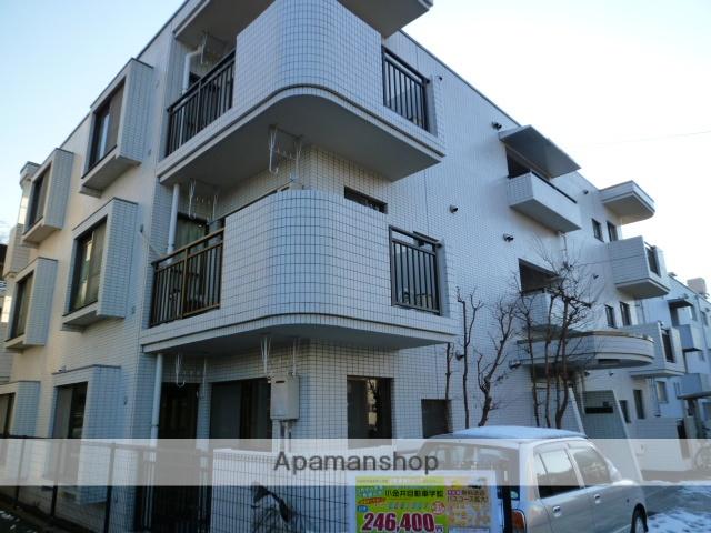 東京都小金井市、東小金井駅徒歩8分の築28年 3階建の賃貸マンション