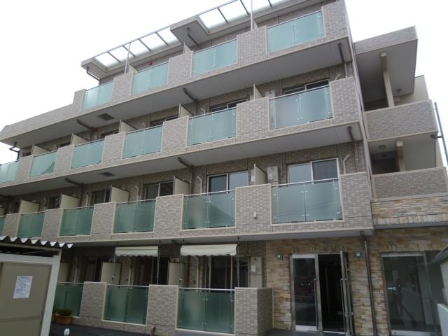 東京都小金井市、東小金井駅徒歩17分の築5年 4階建の賃貸マンション