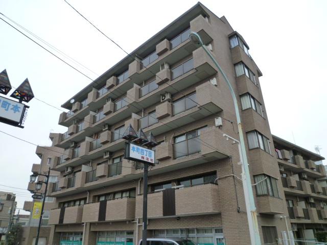 東京都国分寺市、国分寺駅徒歩3分の築30年 6階建の賃貸マンション