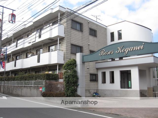 東京都小金井市、東小金井駅徒歩18分の築26年 3階建の賃貸マンション