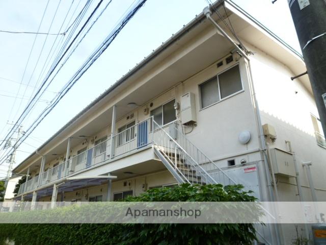 東京都小金井市、武蔵境駅徒歩25分の築50年 2階建の賃貸マンション