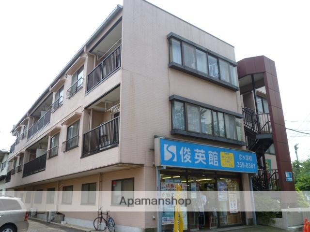 東京都国分寺市、西国分寺駅徒歩20分の築27年 3階建の賃貸マンション