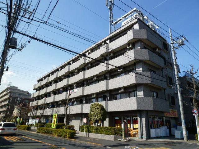 東京都小金井市、武蔵境駅徒歩17分の築24年 5階建の賃貸マンション