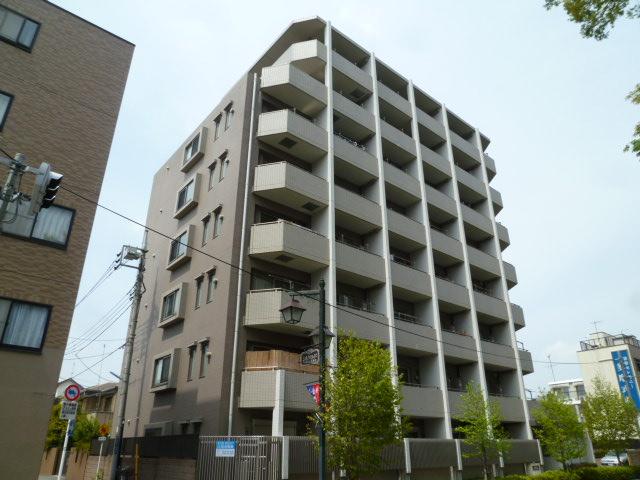 東京都小金井市、東小金井駅徒歩18分の築12年 8階建の賃貸マンション