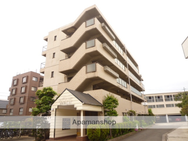 東京都武蔵野市、吉祥寺駅徒歩15分の築27年 5階建の賃貸マンション