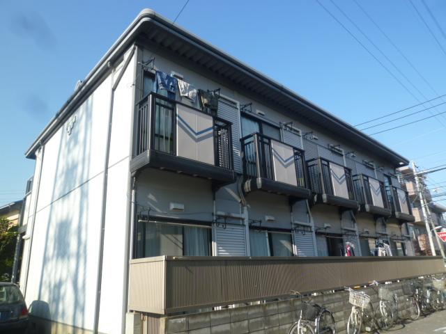 東京都小金井市、武蔵境駅徒歩18分の築23年 2階建の賃貸アパート