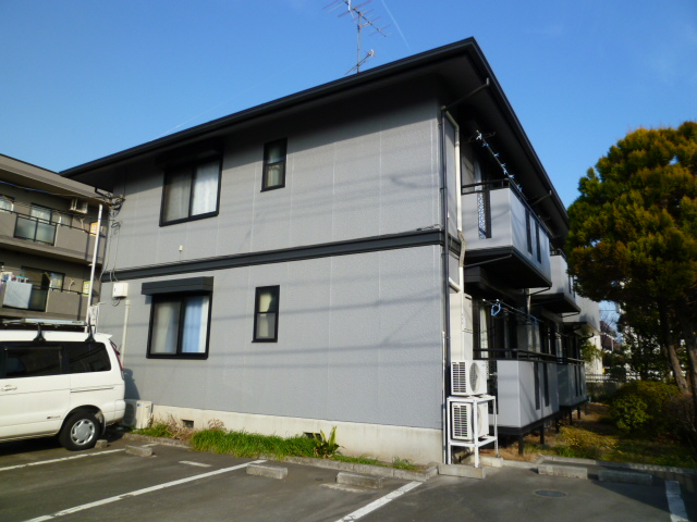 東京都小金井市、東小金井駅徒歩10分の築22年 2階建の賃貸アパート