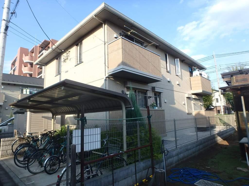 東京都小金井市、東小金井駅徒歩10分の築7年 2階建の賃貸アパート