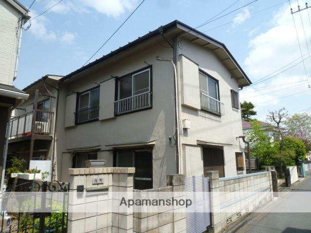 東京都三鷹市、吉祥寺駅徒歩28分の築45年 2階建の賃貸アパート