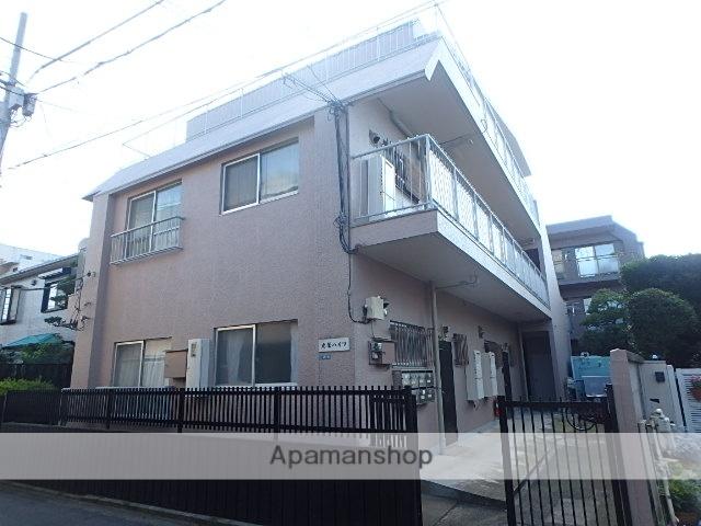 東京都武蔵野市、西荻窪駅徒歩12分の築40年 3階建の賃貸マンション
