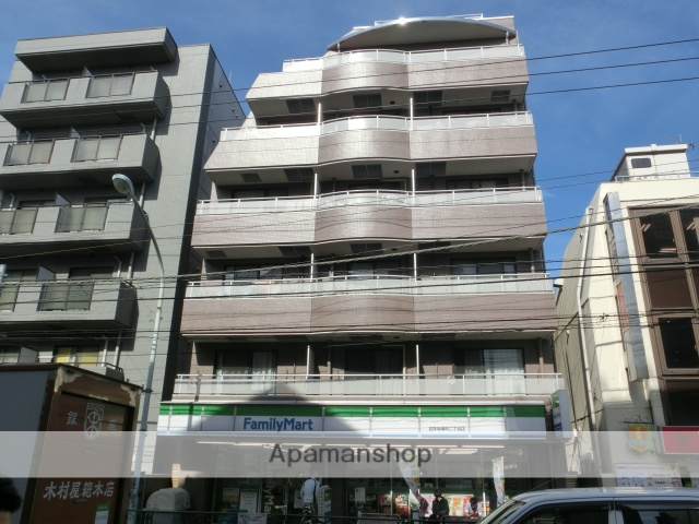 東京都武蔵野市、吉祥寺駅徒歩4分の築22年 6階建の賃貸マンション