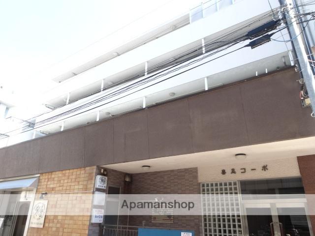 東京都杉並区、荻窪駅徒歩20分の築50年 5階建の賃貸マンション