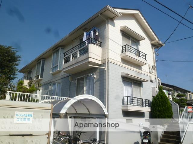 東京都小金井市、東小金井駅徒歩18分の築26年 2階建の賃貸アパート