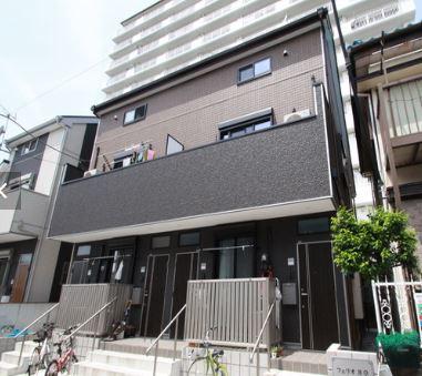 東京都杉並区、鷺ノ宮駅徒歩20分の築2年 2階建の賃貸アパート