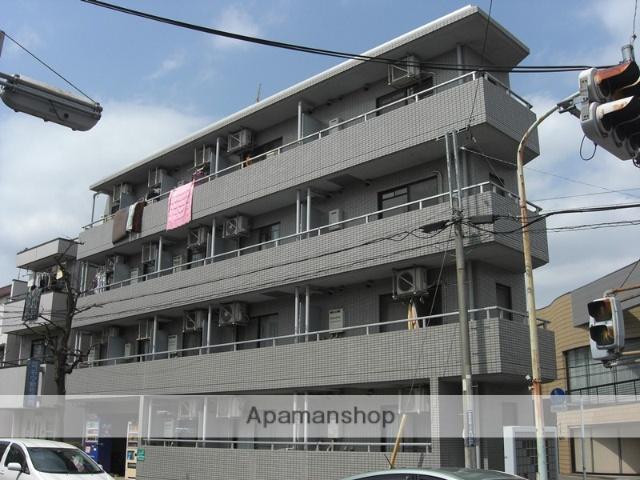 東京都小金井市、武蔵小金井駅徒歩15分の築28年 4階建の賃貸マンション